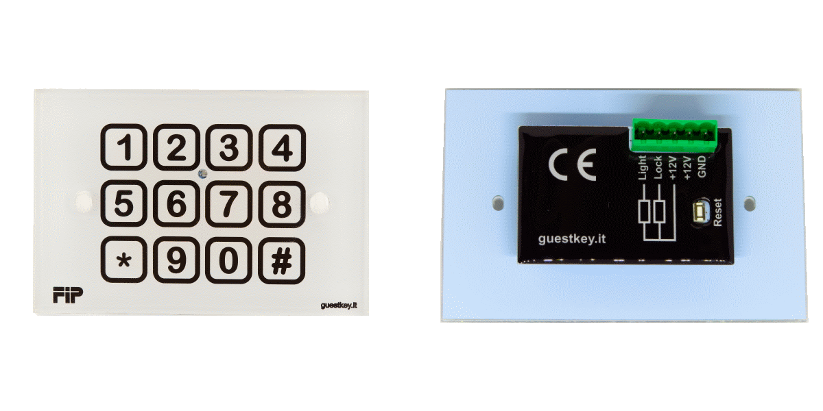 manuale di installazione tastiera elettronica con codici a tempo