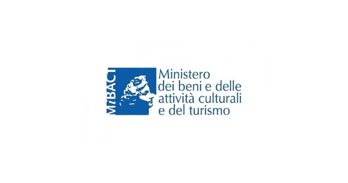 Logo ministero dei Beni e delle attività culturali