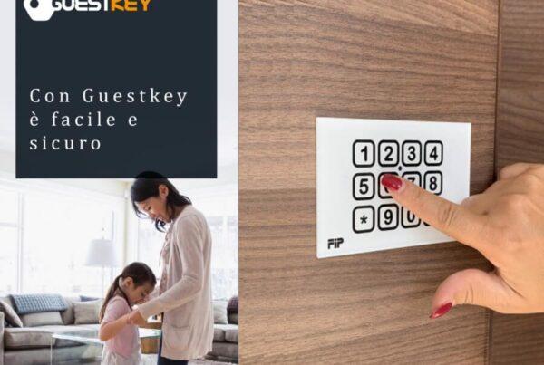 serratura con codice guestkey