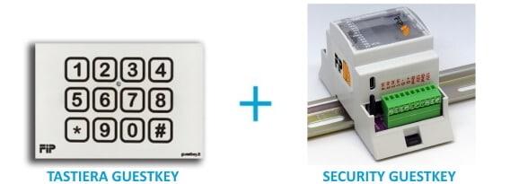 serratura per blindato con tastiera apertura a tempo