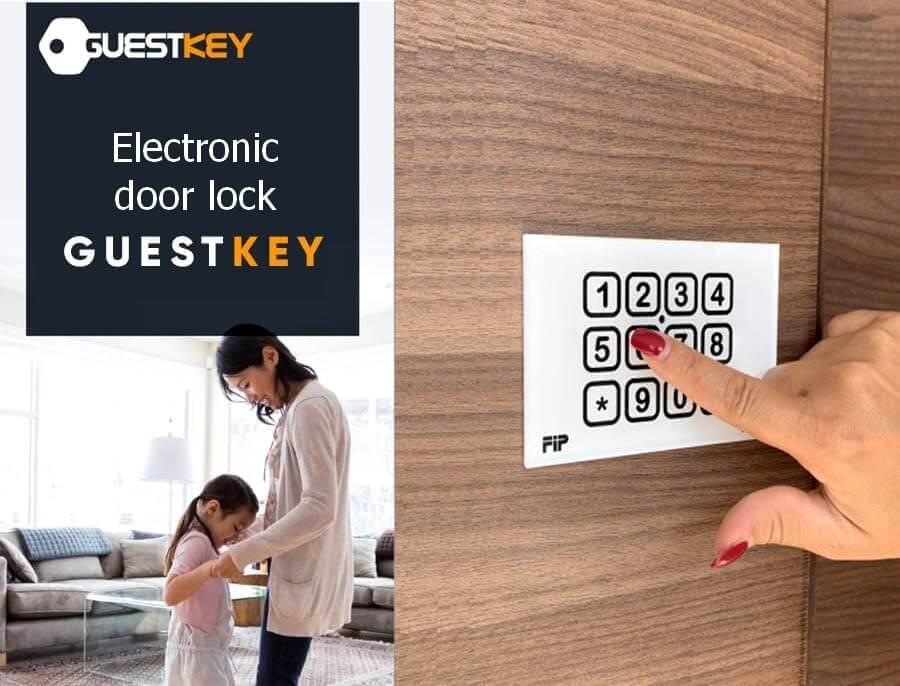 Numeric Electronic Door Lock Guestkey: How it works