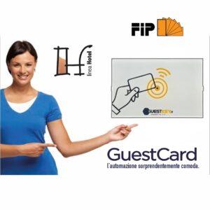 Sistema controllo accessi guest card