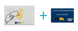 sistema lettore card rfid