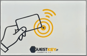 Access control apertura porte guestcard