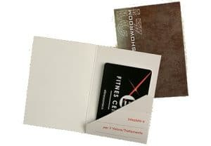 Card personali per tasche energy saving