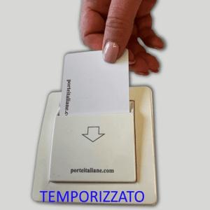 Energy Saving temporizzato