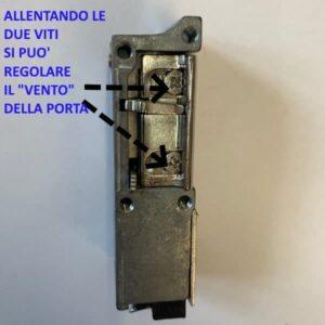 Regolazione Incontro elettrico per blindati