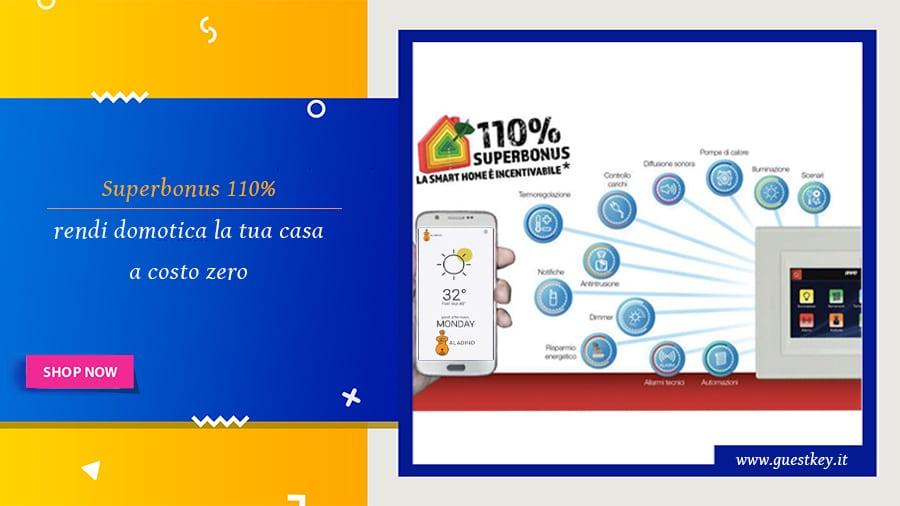 Superbonus 110% per rendere smar la tua abitazione